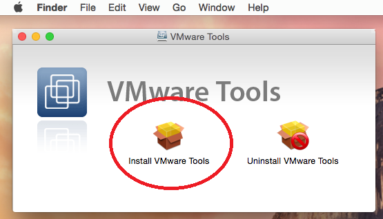 Vmware Workstation Tools For Mac Os X