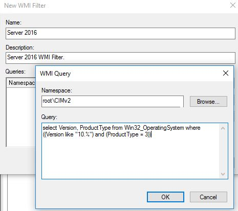 WMI Filtering in Group Policy | Nerd Drivel