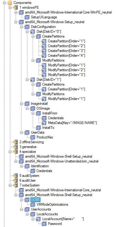 Windows 10 1803 AutoUnattend xml | Nerd Drivel